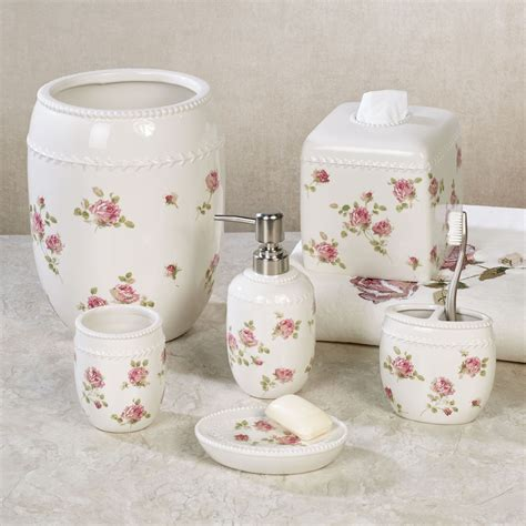 floral bathroom sets rosalie floral bath accessories by piper wright