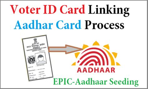 Search Address By Voter Id Card Number How To Link Voter Id Card With Aadhar Card Do It Before Deadline July 31