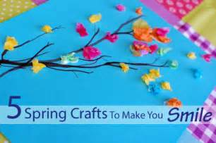 Spring Ideas 5 Spring Crafts To Make You Smile Inner Child Fun