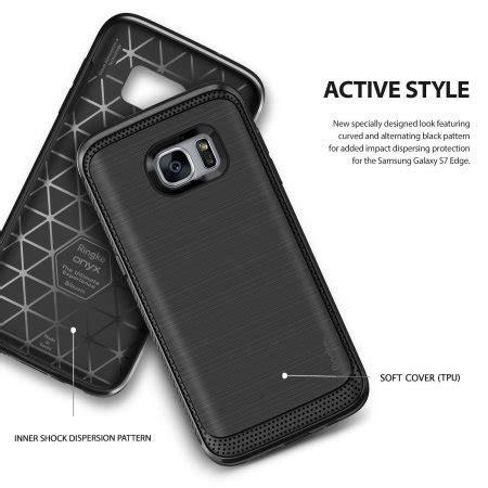 Casing Rearth Ringke Onyx Samsung Galaxy S7 Flat Ori Made In Korea ringke onyx samsung galaxy s7 edge tough h 252 lle in schwarz mobilefun de