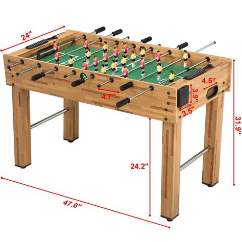 table la mesa mesa md sports 48 futbolito futbol juego mesa foosball