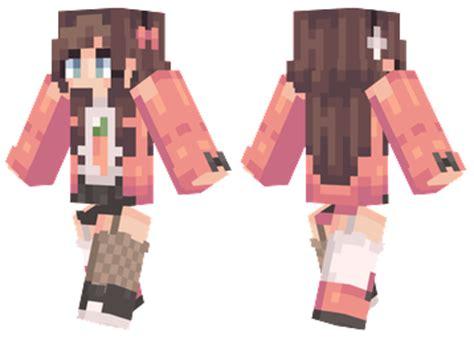 Black Panda Pink Mc carrot mc skins carrots and minecraft