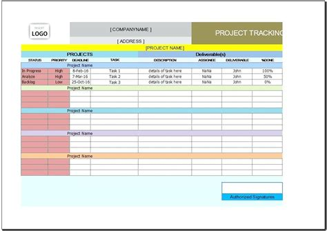 project management template excel free free excel project management tracking templates excel