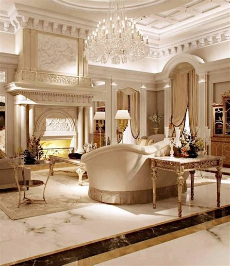 Luxurious Home Interiors by 37 Fascinating Luxury Living Rooms Designs