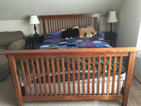 mission style bed frame queen mission style bed frame furniture in marysville