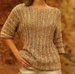 lavori a maglia crea una t shirt con maniche fino ai