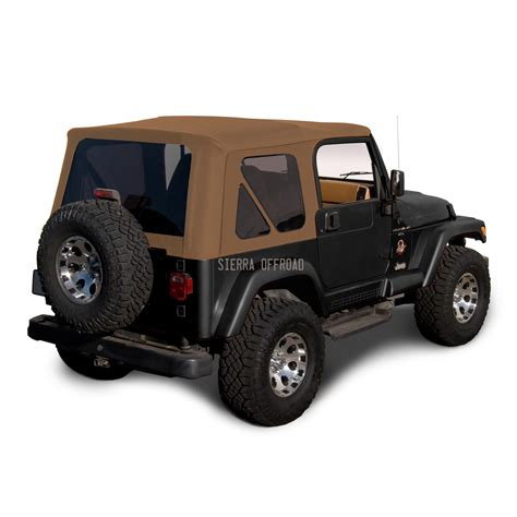 Soft Top For Jeep Tj Offroad 1997 2002 Tj Wrangler Factory Style Soft