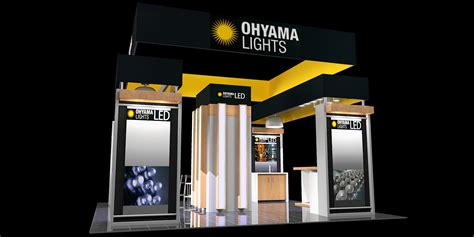 booth design lighting tradeshow and exhibit design by christopher m vela at