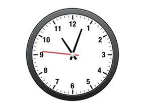 Clock analog clock sketch freebie download free resource for