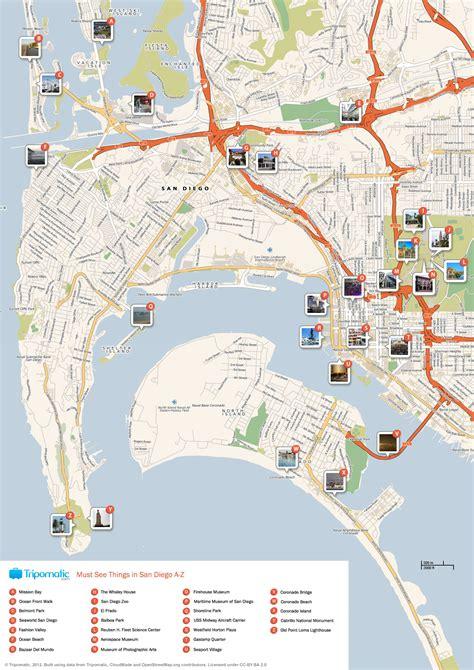 map world san diego maps update 14882105 san diego tourist map san diego