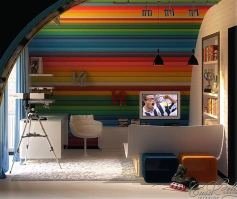 Rainbow Rooms by Colorful Rooms
