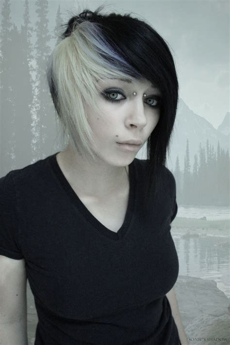 emo hairstyles black and white 1000 images about official sonic s shadow on pinterest