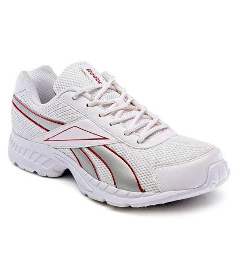 white running shoes reebok white running shoes buy reebok white running