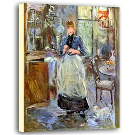 Berthe Morisot In The Dining Room The Dining Room Berthe Morisot Canvas Poster The Dining Room Berthe Morisot Canvas Print