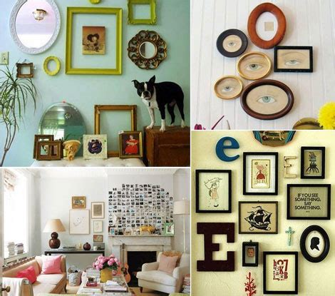 how to display photos on wall the golden fingers a few wall decorating ideas