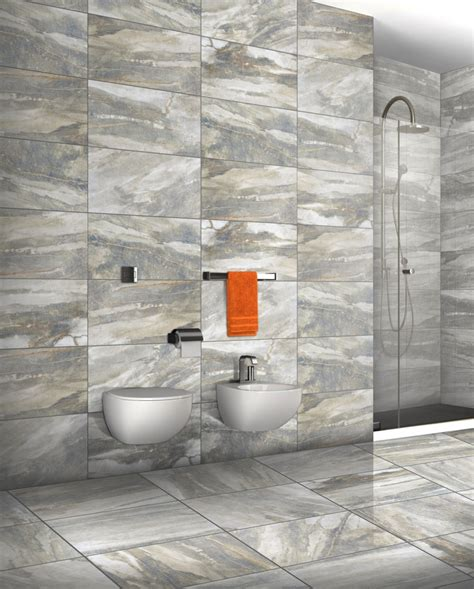 latest trends in bathroom tiles tile trends fossilized looks tileofspainusa com