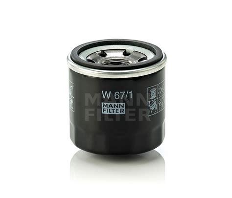 Nissan Filter 1 mann filter w67 1 fits nissan navara 4 0 4x4 d40 4 0 rwd d40 ebay