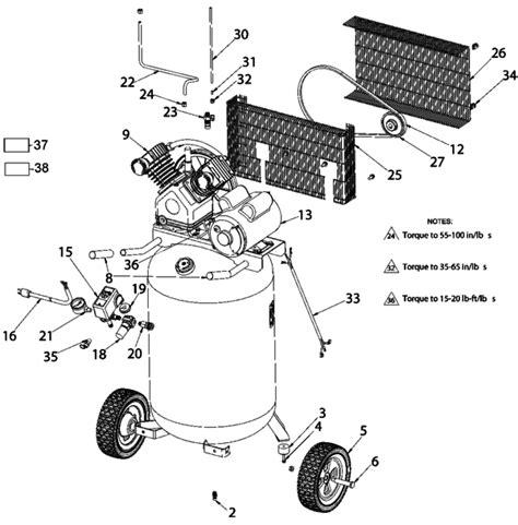 porter cable pxcm compressors parts partswarehousecom