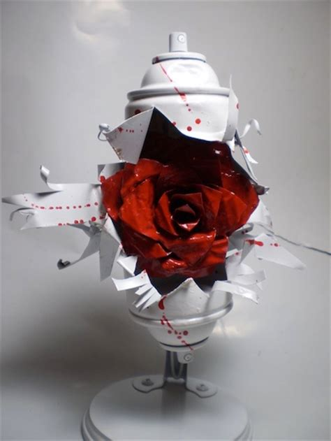 spray painted roses image coming from spray paint can png