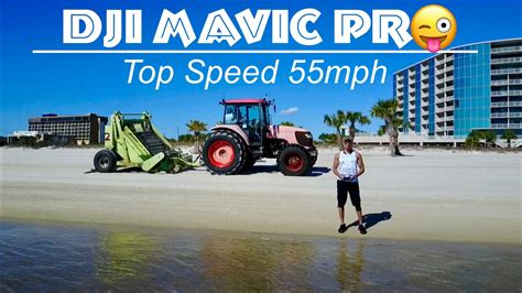 dji mavic pro quadcopter drone top speed  mph