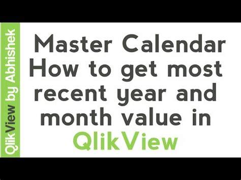 qlikview calendar tutorial qlikview tutorials master calendar how to get most