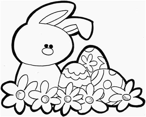 little bunny coloring pages easter bunny drawings coloring home
