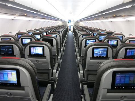 American A321 Interior american a321 hawaii service starts in september