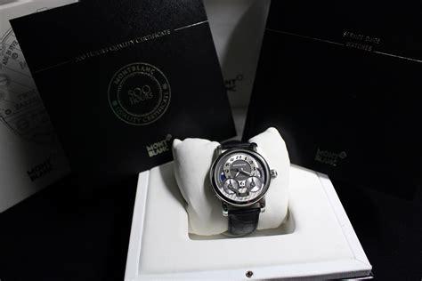 Jam Tangan Montblanc Nicolas Rieussec jual beli jam tangan mewah second original jam tangan