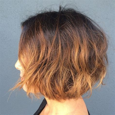 very short layered light brown hairstyles 21 textured choppy bob hairstyles short shoulder length
