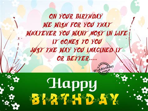 How To Wish Someone A Happy Birthday In Birthday Wishes With Balloons Birthday Images Pictures