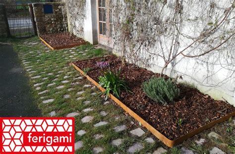 realiser une bordure de jardin