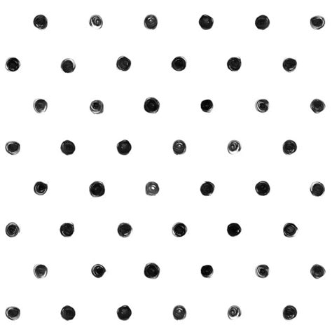 dream home designss dot blogspot dot com small black and white polka dot pattern custom wallpaper
