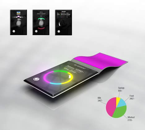 Concept Of Future Credit Card by The Credit Card Of The Future Yanko Design
