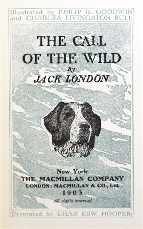 the call of the wild jack london first edition rare