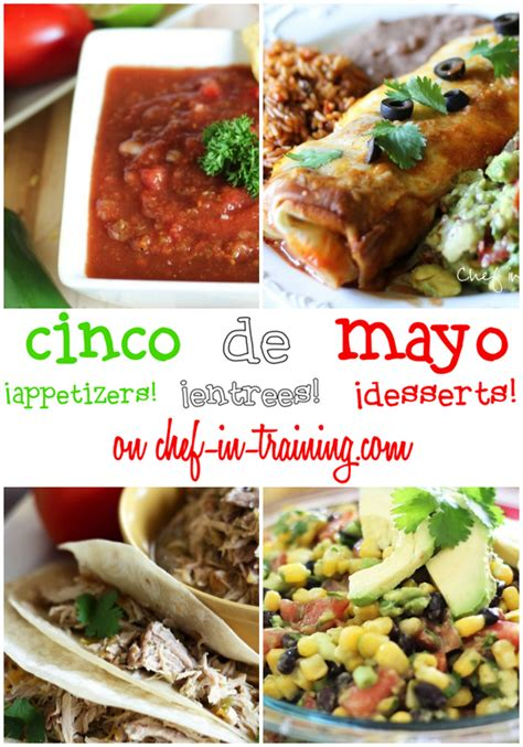 Recipes For A Cinco De Mayo by Cinco De Mayo Up Appetizers Entrees And Desserts