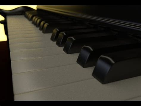 tutorial piano honesty blender 2 67 piano tutorial youtube