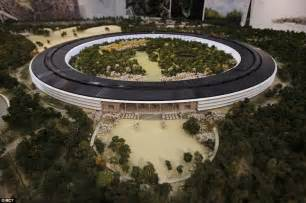 New Apple Headquarters by Apple Reveals Images Of Its Spaceship Headquarters In