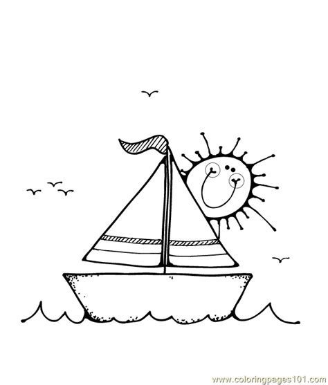 coloring pages of water transport watertransport free colouring pages