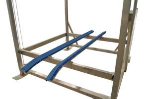 vinyl boat bunks are a better long term value than - Boat Lift Vinyl Bunks