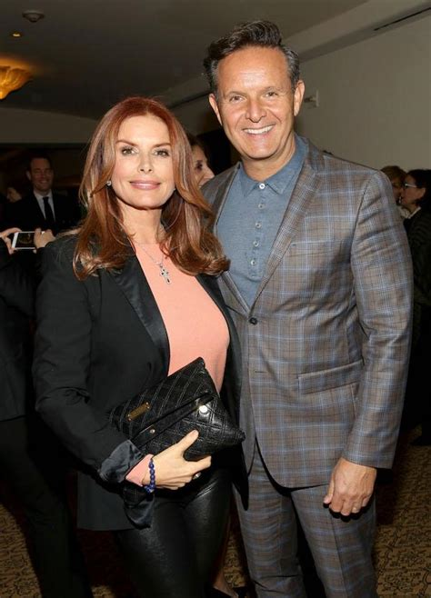 Roma Downey And Burnett Engaged by Roma Downey Burnett Relieved That Is Back Home
