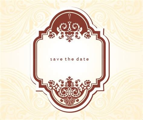 free vintage save the date templates 19 free save the dates psd vector