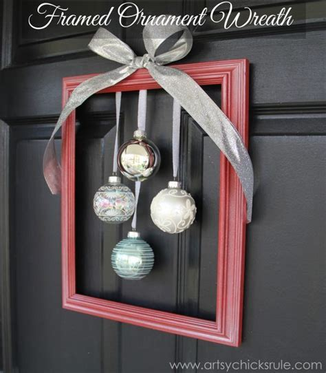 decorating ideas for wire wreaths frames diy framed ornament wreath welcome home tour artsy rule 174