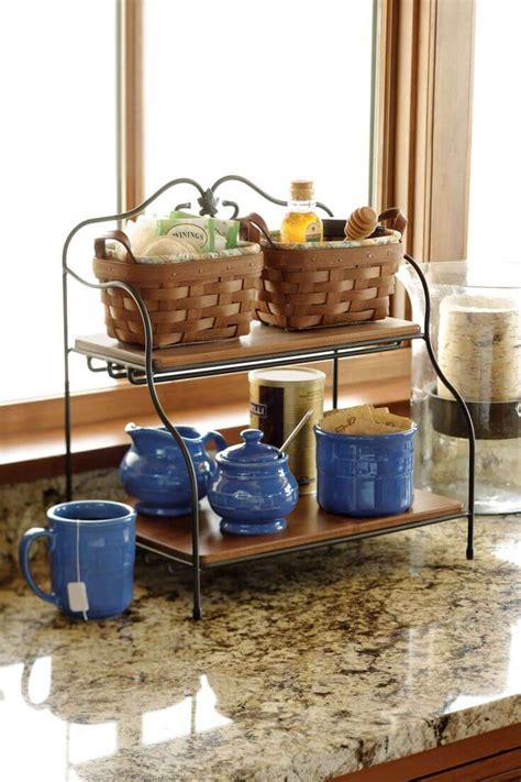 kitchen countertop storage ideas 23 best clutter free kitchen countertop ideas and designs
