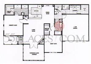 1700 square foot house plans floorplan 1700 sq ft the fairways at