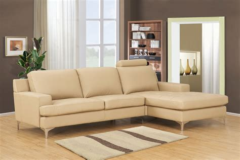 cream leather sofa paint cream leather sofa with l shaped design with stainless