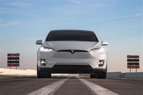 Tesla Front 2016 Tesla Model X P90d Front End Motor Trend