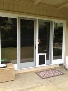 Pet Door For Screen Patio Door Sliding Screen Door With Door Yelp