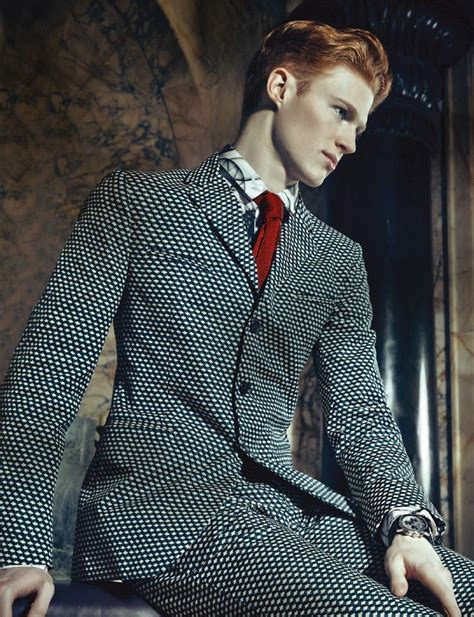 mens fashion for gingers michael mccaughley pomp magazine shot by iakovos for