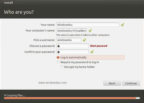 tutorial install ubuntu lewat virtual box instal ubuntu lewat virtual box