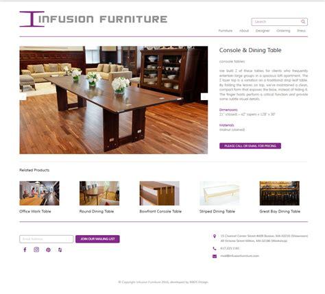 layout portfolio wordpress infusion furniture portfolio wordpress site bbds design